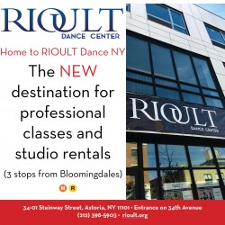 RIOULT DANCE CENTER. Our classes range from Ballet, Modern, Hip Hop, Jazz, Zumba, Gyrokinesis, and Pilates. We also have an exciting children's program, with fun and engaging classes for Toddlers to Teens. Here at RIOULT, our teachers are among the best you can get anywhere.