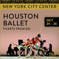 Houston Ballet Oct 24 - 26