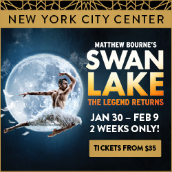Matthew Bourne's Swan Lake | Jan 30 - Feb 9
