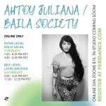 ridance Online: Baila Society with Ahtoy Juliana