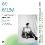 Peridance Online: Choreography with Bo Belza