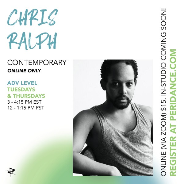 Peridance Online: Contemporary with Chris Ralph
