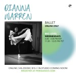 Peridance Online: Beg Ballet with Dianna Warren