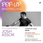 Pop-Up Masterclass: Advanced Level Theater Jazz with Josh Assor