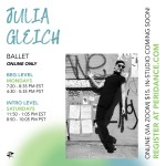 Peridance Online: Ballet with Julia Gleich