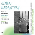 Peridance Online: Ballet with Simon Kazantsev