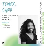 Peridance Online: Foundations of Hip Hop with Tomoe Carr