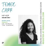 Peridance Online: Inter Hip Hop with Tomoe Carr