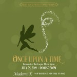 Once Upon A Time - Immersive Burlesque Show flyer by Siren Pack Productions