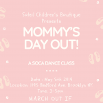 Mommy's Day Out- A soca dance class for all moms and moms to be.