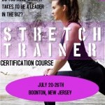 Be the best in the industry! Become a stretch trainer.