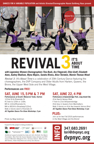 Revival 3  Artists