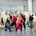 Photo of West African Class at Ailey Extension