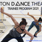 Boston Dance Theater Trainee Program postcard