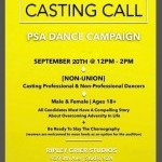 CALLING ALL DANCERS MALE AND FEMALE! AGES 18+   Dancers most have a compelling story about overcoming adversity in life.