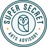 Super Secret Arts Advisory logo
