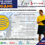 Pre&Postnatal; Fitness Training in Miami