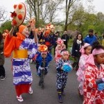 Japanese Folk Dance institute of NY at Japan Day