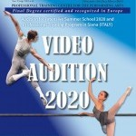 Video Audition to access INTENSIVE SUMMER SCHOOL 2020 and PROFESSIONAL TRAINING PROGRAM FULL YEAR 2020/2021