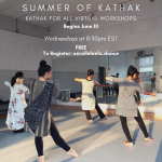 Kathak For All classes- FREE to the public
