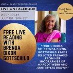 Free Live Reading With Brenda Dixon Gottschild