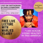 Free Live Lecture With Marlies Yearby