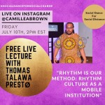 Free Live Lecture With Thomas Talawa Prestø