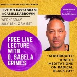 Free Live Lecture With d. Sabela grimes