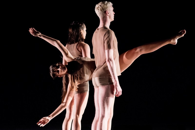 Photo from The Body Keeps the Score choreographed by Audrey Thao Berger. Performed at The Place Theater in London.
