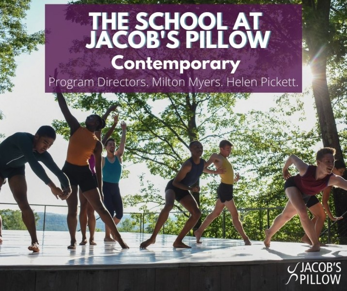 2021 The School at Jacob's Pillow Onsite & Online Contemporary