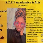 AFRICAN DANCE (IN PERSON) CLASSES NOW AVAILABLE with Jessica Parris from STEP Academics & Arts
