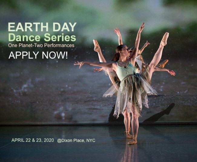APPLY! Earth Day Dance Series