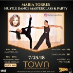 A Hustle Dance Masterclass & Social with Maria Torres