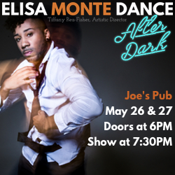 Elisa Monte Dance at Joe's Pub May 26 & 27