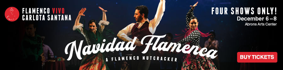 Flamenco Vivo presents: Navidad Flamenca. December 6-8
