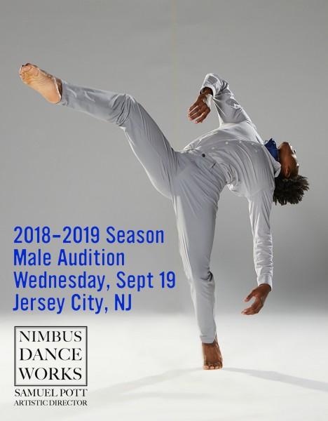 Male Dancer Audition for Nimbus 2018-19 Season | Dance/NYC