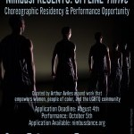 NimbusPRESENTS: OFFLINE Thrive, a choreographic residency and performance opportunity. Application Due August 4th