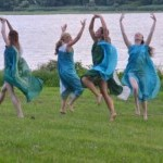 Dancing at Cedarmere, historical home of WC Bryant