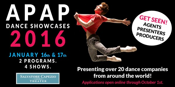 Apply Now for the APAP 2016 Showcases at Peridance