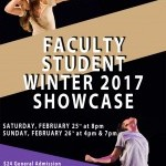 Faculty and Student Showcases Graphic
