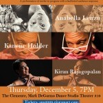 Mark DeGarmo Dance continues its Salon Performance Series on Thursday, December 5th