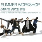 Summer Workshop Promotional Image includes photo of company performing