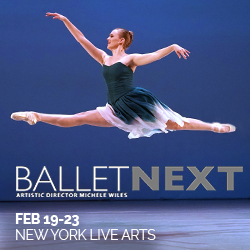 BalletNext at New York Live Arts Feb 19-23