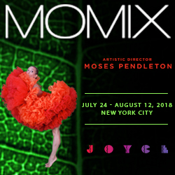 MOMIX at The Joyce Theater 7/24-8/12