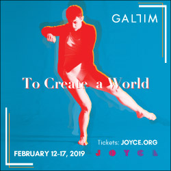 Gallim Presents the World Premiere of To Create a World | February 12–17, 2019 at The Joyce Theater