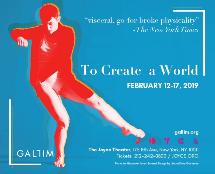 Gallim Presents the World Premiere of To Create a World at the Joyce Theater