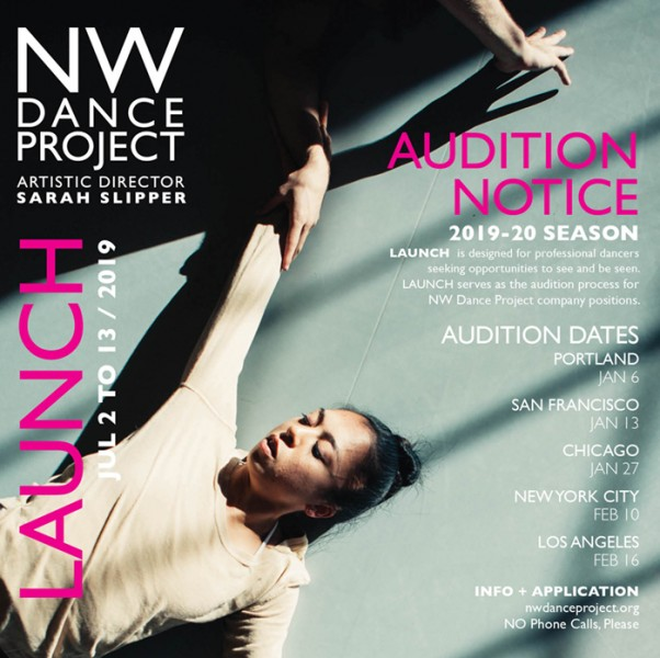 NW DANCE PROJECT AUDITIONS | Dance/NYC