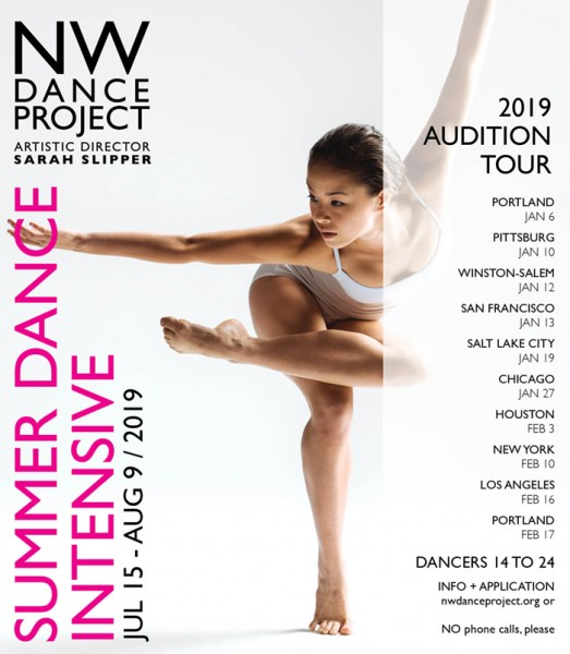NW DANCE PROJECT AUDITION - SUMMER DANCE INTENSIVE | Dance/NYC