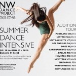NW DANCE PROJECT AUDITION - SUMMER DANCE INTENSIVE