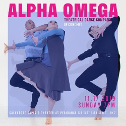 Alpha Omega Theatrical Dance Company in concert at Salvatore Capezio Theater at Peridance